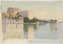 The Palace at Udaipur (Rajputana)